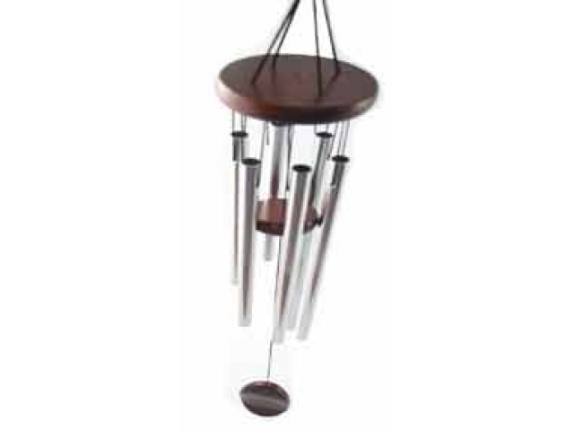 six rod wind chime